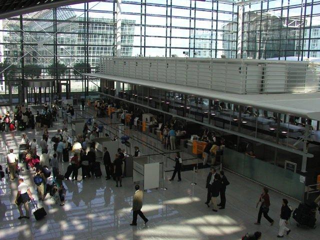 Terminal 2: Nach Passagierzahlen ist der Münchner Flughafen der zweitgrößte in Deutschland.