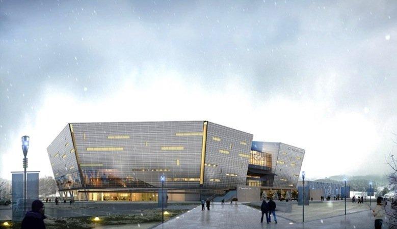 In der Halle Ice Hockey I sollen 2018 die Eishockeywettkämpfe der Männer stattfinden. Sie bietet 10.000 Zuschauern Platz und soll nach Olympia abgebaut und in die Stadt Wonju transportiert werden.