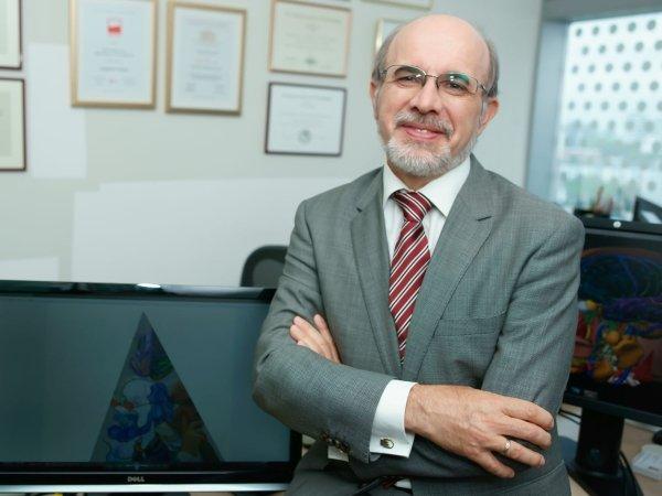 Der in Singapur forschende polnische Wissenschaftler Wieslaw Nowinski.