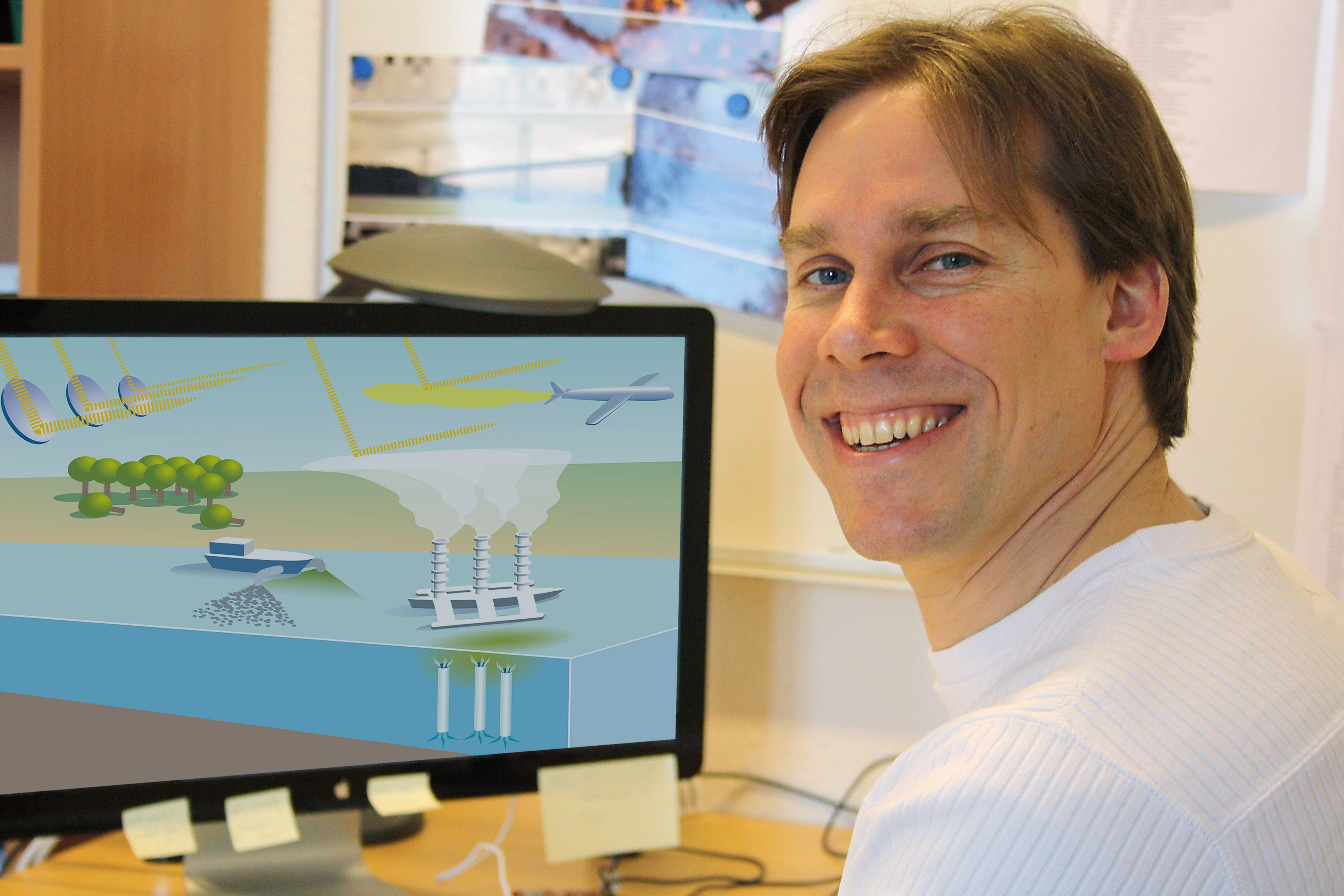 Klimaforscher Dr. David Kellersimulierte in einem globalen Erdmodell fünf verschiedene Climate Engineering-Maßnahmen. Die meisten Projekte schaden mehr als sie nutzen. Nur Spiegel im All erreichen eine positive Wirkung.