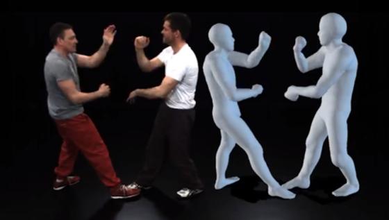 Die neue Kameratechnik macht es möglich, Bewegungen von Schauspielern in Echtzeit auf virtuelle Figuren zu übertragen. Spezialanzüge sind erstmals überflüssig. Zu sehen ist die Technik auf der Cebit in Hannover.