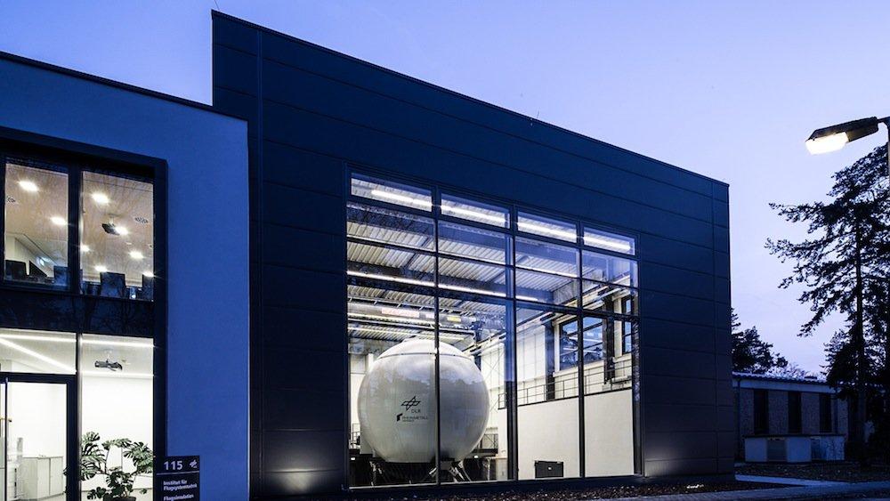 Das neue Simulatorzentrum des DLR-Instituts für Flugsystemtechnik in Braunschweig.