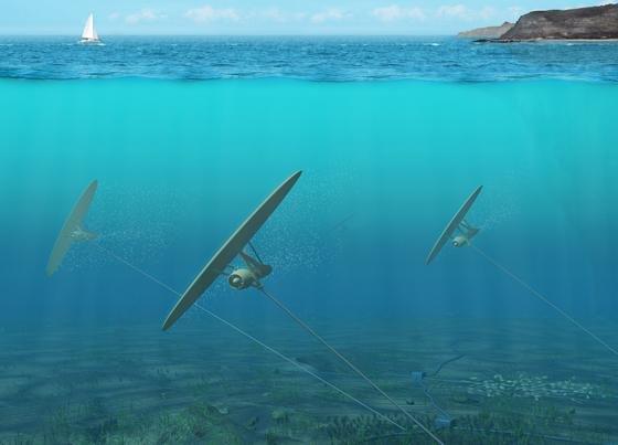 Das Potential der Energieerzeugung im Meer ist enorm und soll die Kapazität von zwölf Kernkraftwerken erreichen.