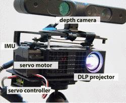 Mobile Projektionstechnik.