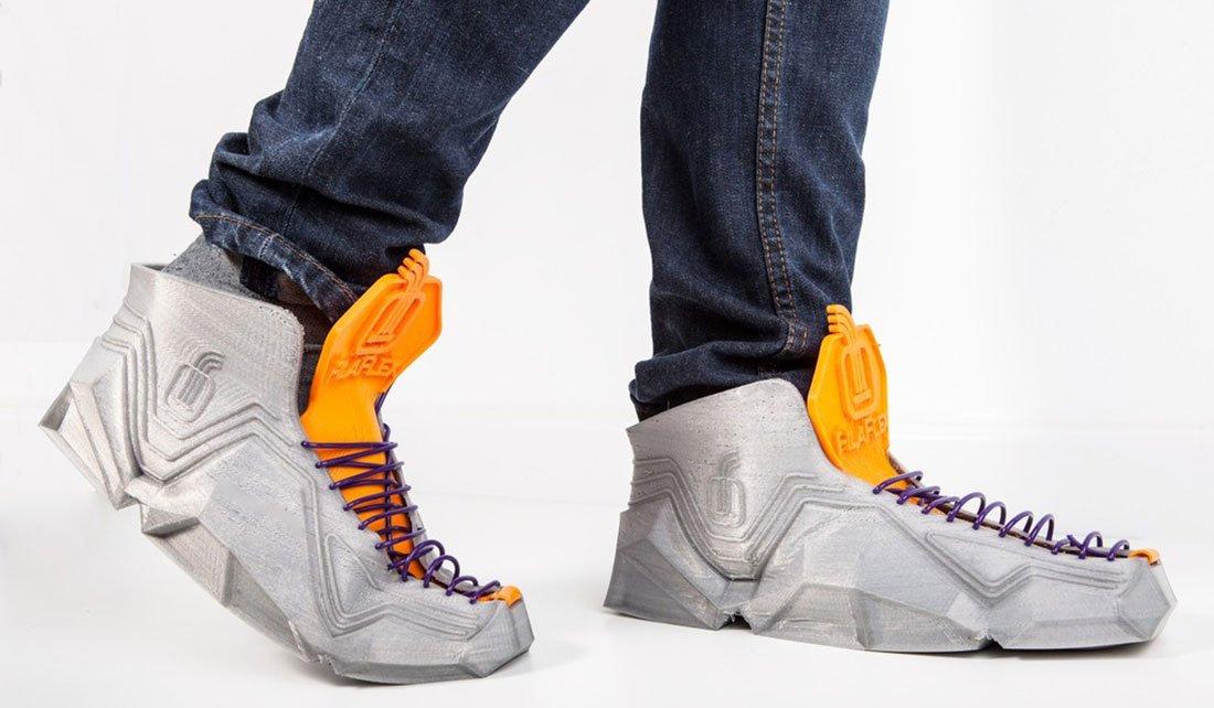 Sneakersdes spanischen Designers Ignacio Garcia aus dem 3D-Drucker
