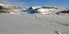 Grönländischer Eisschild schmilzt jährlich um zehn Gigatonnen
