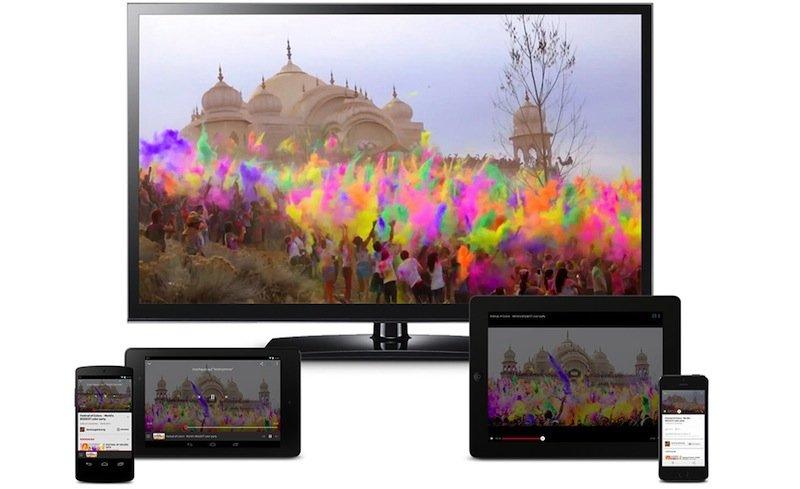 Für den TV-Stick sind Smartphone oder Tablet so etwas wie eine Fernbedienung, die ihm die entsprechenden Internetquellen aus der Cloud rüberschickt.