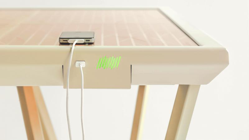 Smartphones und Tablet-PCs lassen sich über USB an den Current Table anbinden.