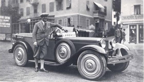 Blick zurück auf die Anfänge des Unternehmens: Im Jahr 1928 baute Bertone die Karosserie für den Ansaldo 6BS.