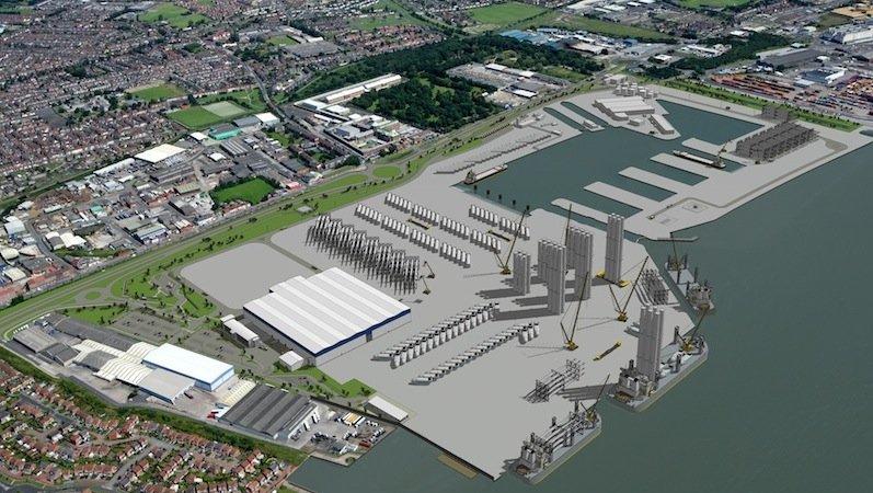 Die englische Stadt Kingston upon Hull, kurz Hull, liegt am Nordufer der Flussmündung des Hull Rivers. Hier baut Siemens eine neue Fabrik für Rotorblätter mit angeschlossenem Logistikzentrum.