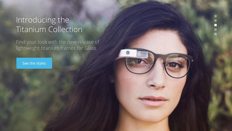 Wirklich chic kommt Google Glass bisher selbst in der Titanium Collection nicht rüber.