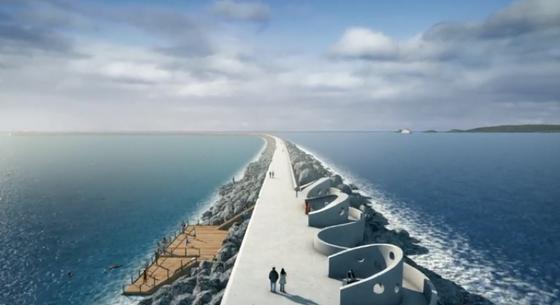 Swansea: Im Projektfilm wird so die Vision des künftigen Lagunen-Kraftwerks dargestellt.