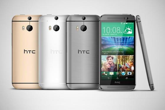"""Fast ausschließlich aus Metall besteht das neue HTC One M8. Neu an dem Android-Smartphone aus Taiwan ist vor allem die """"Dual Camera""""."""