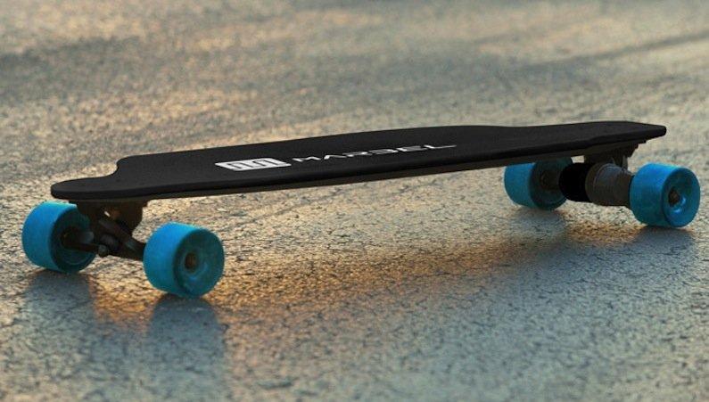 Erfinder Matt Belch hat die Entwicklung des Skateboards über die Crowdfundingplattform Kickstarter finanziert. Fast 130.000 US-Dollar haben Fans der Idee zusammengetragen.