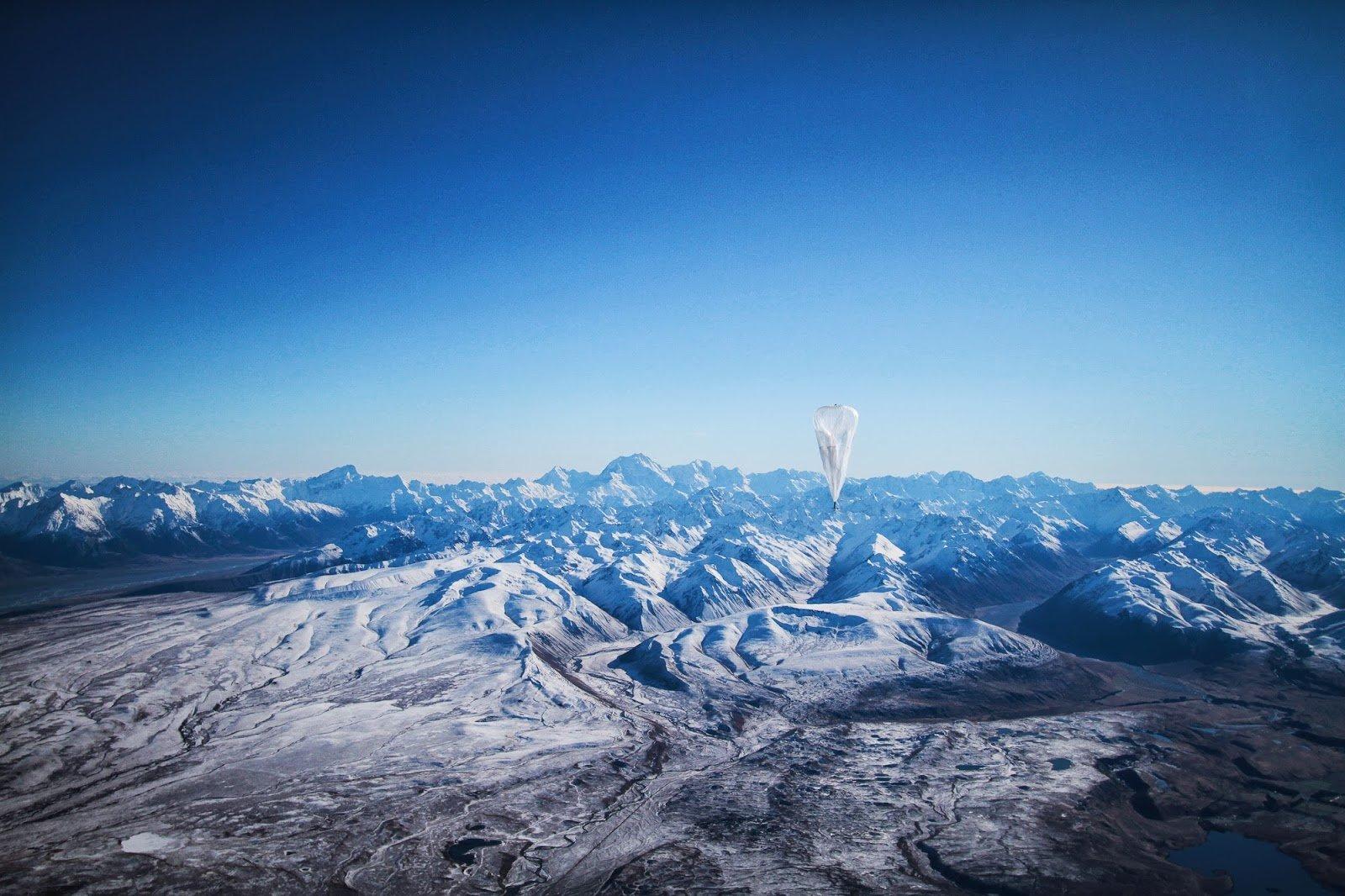 Google Loon: Der Suchmaschinenkonzern will Ballons in der Stratosphäre nutzen, um das Internet in Regionen zu bringen, die bislang davon abgeschnitten sind.