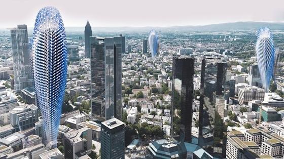Um die Luftqualität einer Großstadt zu verbessern, müssten viele Hyper-Filter-Hochhäuser gebaut werden.