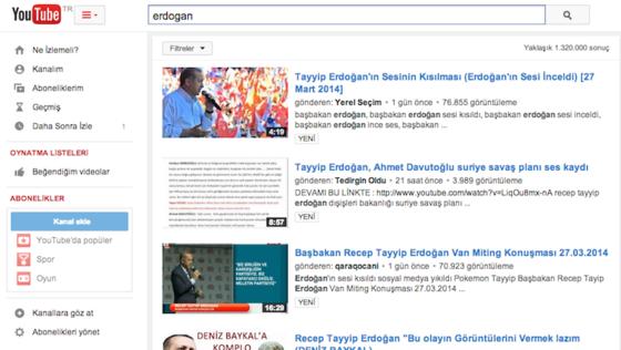 Die türkische Youtube-Seite ist nur noch aus Deutschland erreichbar. In der Türkei hat sie die Telekommunikationsbehörde gesperrt. Einen Gerichtsbeschluss brauchte sie dafür nicht.