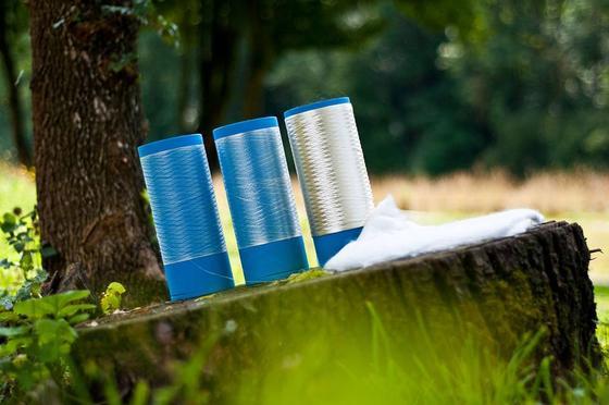 Das in Denkendorf neu entwickelte Direktspinnverfahren bringt Cellulose-Fasern in einer Feinheit von 0,2 dtex hervor.