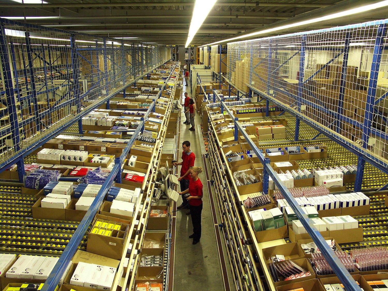 50.000 Pakete pro Stunde sollen künftig im Paketzentrum in den Hallen des Opel-Werkes Bochum verarbeitet werden.