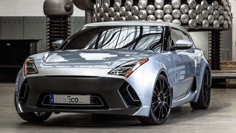 Eine Allianz der besten deutschen Universitäten hat das Elektroauto Ineco hervorgebracht. Es wiegt lediglich 900 Kilogramm und verbraucht weniger Strom als der ungekrönte Energiekönig VW E-Up.