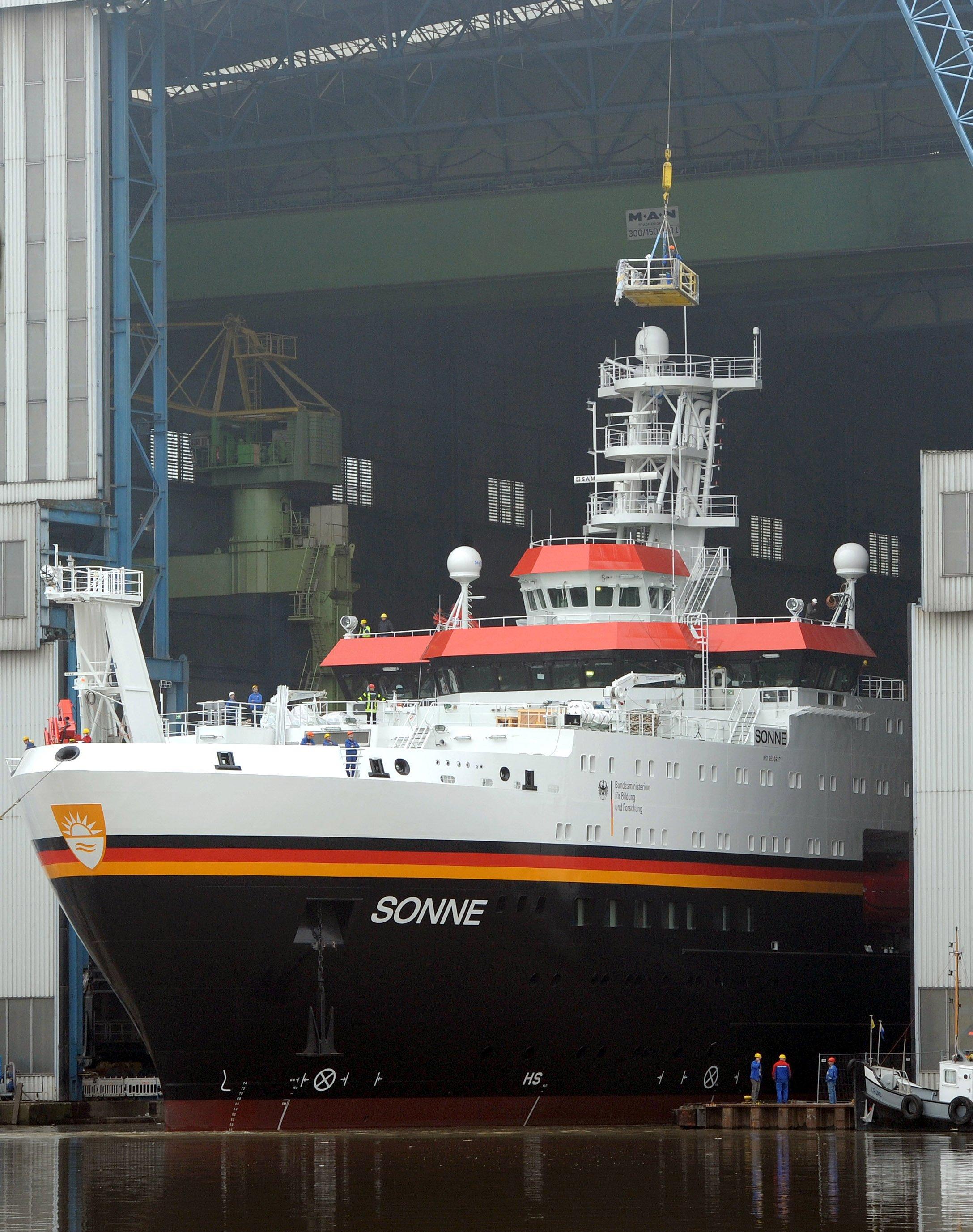 Das neue Forschungsschiff