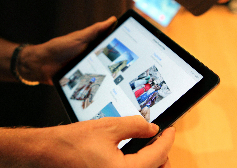 Das iPad soll Gerüchten zufolge einen größeren Bildschirm bekommen.