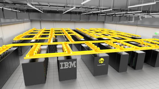 SuperMUC arbeitet mit 147.456 Rechenkernen. Die erreichte Rekordmarke ist keinesfalls die Grenze des Superrechners. Laut Leibniz Rechenzentrum sollen drei Petaflops möglich sein.