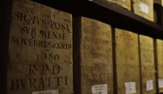 Wertvolle Handschrift von 1680 in der Vatikanischen Bibliothek. Die ersten Bestände werden derzeit digitalisiert.