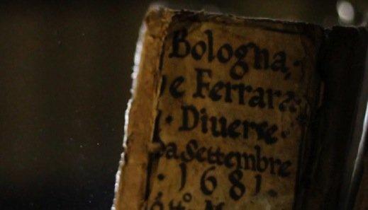 Eine Handschrift von 1681 in der Vatikanischen Bibliothek.