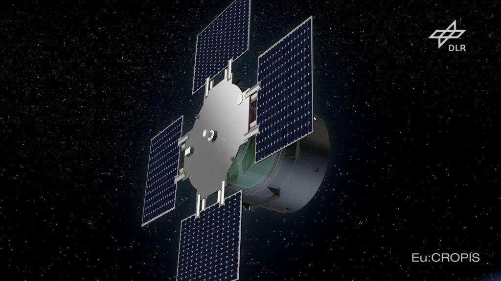 Der Satellit Eu:CROPIS mit einem kleinen Gewächshaus für Tomaten an Bord startet 2016 ins All.