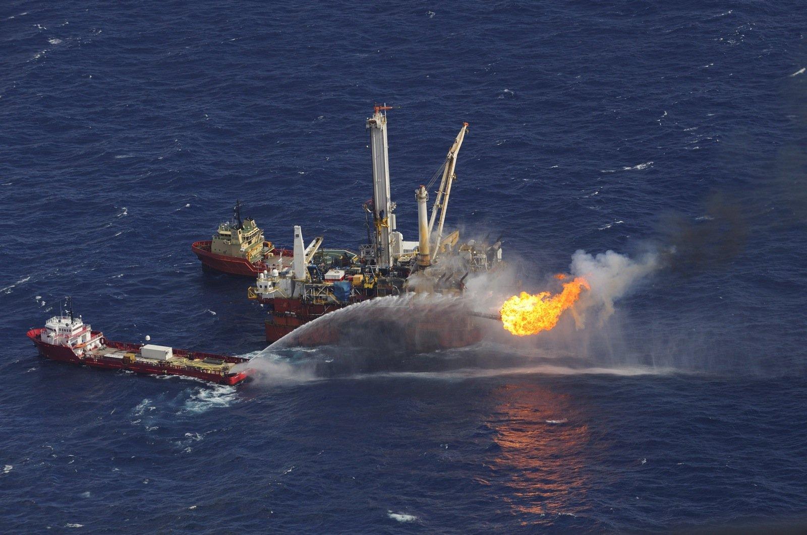 Ölplattform Deep Water Horizon: Infolge der Explosion verschmutzten Hunderttausende Liter Öl den Golf von Mexiko.