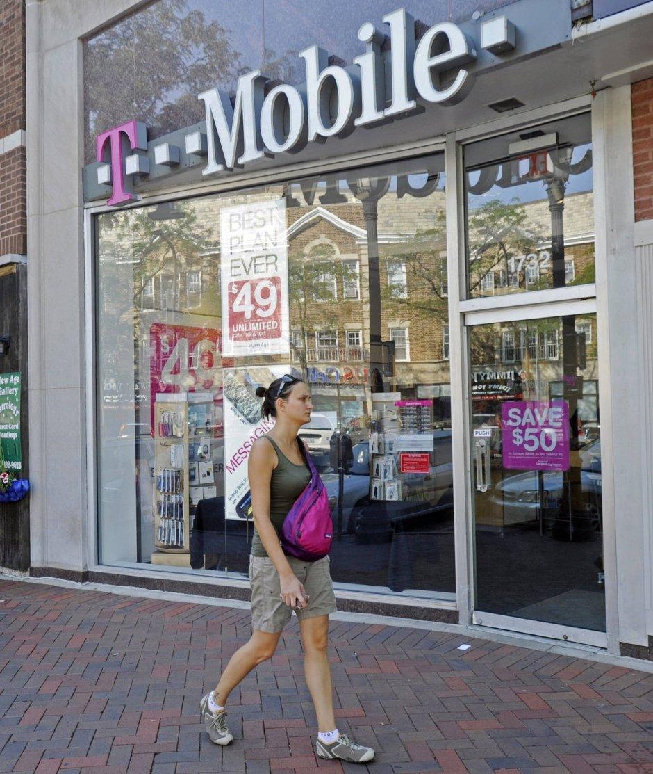 T-Mobile-Filiale in Illinois: Die Deutsche Telekom will sich vom amerikanischen Markt verabschieden.