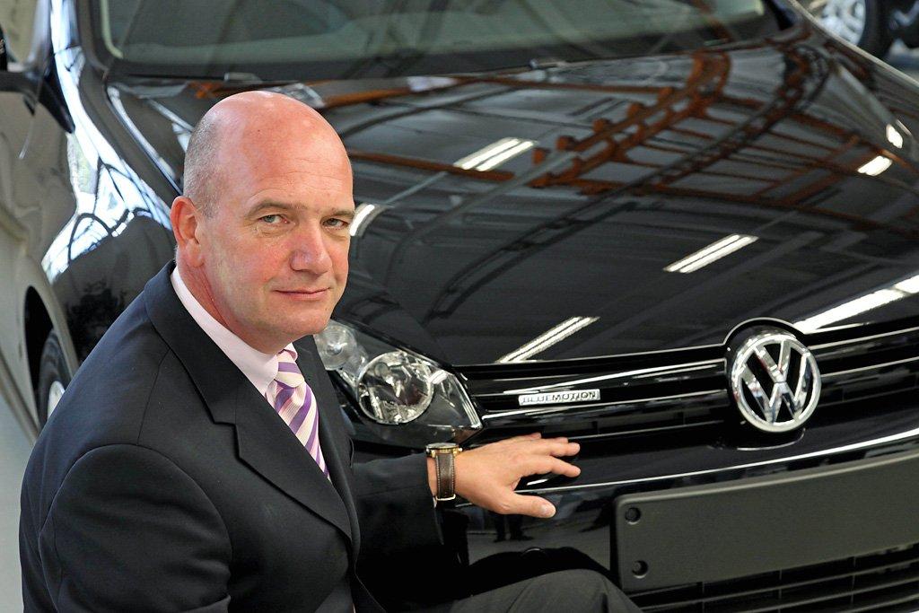 """Bernd Osterloh, Vorsitzender des Gesamt- und Konzernbetriebsrats der Volkswagen AG:""""Ein B-SUV, sozusagen ein längerer Tiguan, könnte den Absatz in den USA beflügeln."""""""