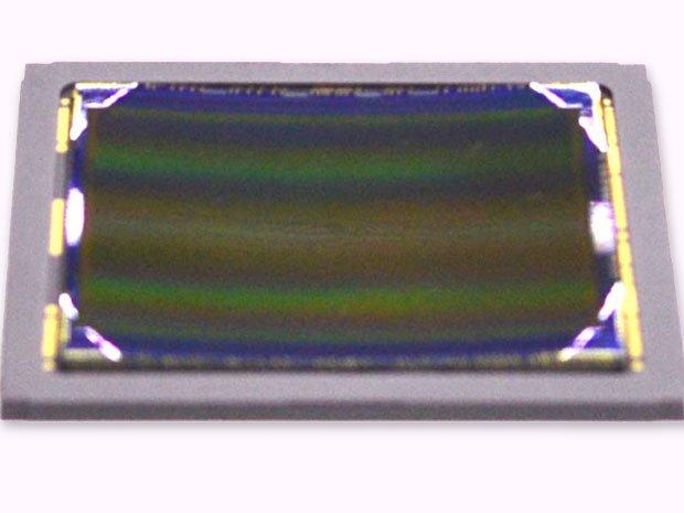 Gekrümmter Sensor von Sony.