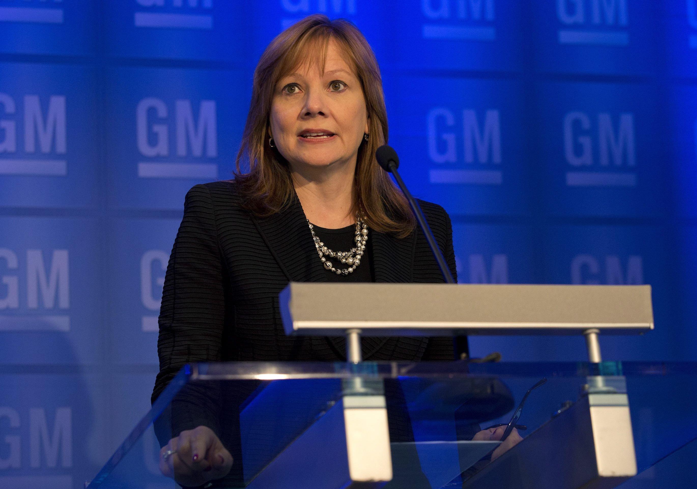 GM-Chefin Mary Barra will ein Entschädigungsprogramm auflägen.