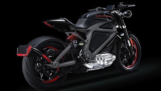 """Ohne Auspuffrohr: Harley-Davidson hat jetzt sein erstes Elektro-Motorrad """"Livewire"""" vorgestellt und geht damit auf Promotion-Tour."""