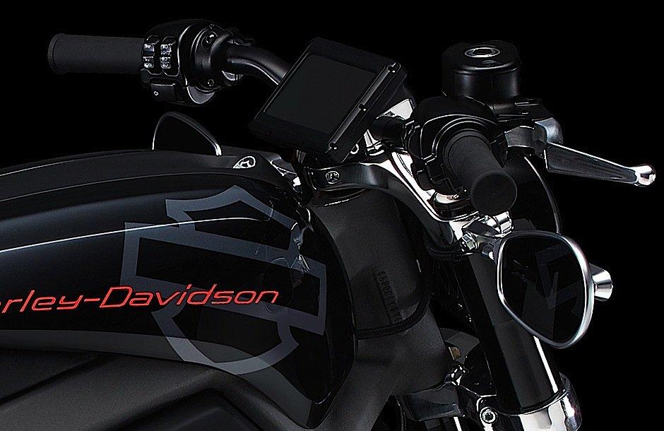 Detailaufnahme des Vorserienmodells: Das Feedback der internationalen Motorrad-Community bei den Promotion-Touren soll in die weitere Entwicklung des E-Bikes einfließen.