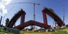 Metalllegierung mit Formgedächtnis soll Brücken verstärken
