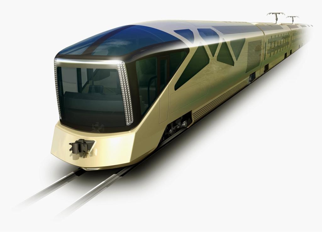 Der Cruise Train hat zwei Antriebe und kann sowohl auf elektrifizierten wie auf nichtelektrifizierten Strecken fahren.