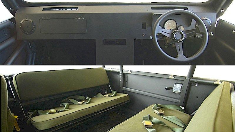 Bis zu acht Personen finden im Inneren des Mobius II Platz. Auf Luxus wie Airbag, ABS oder Seitenfenster müssen sie allerdings verzichten. Hinten sind Zwei-Punkt-Gurte vorhanden, vorne Drei-Punkt-Gurte.