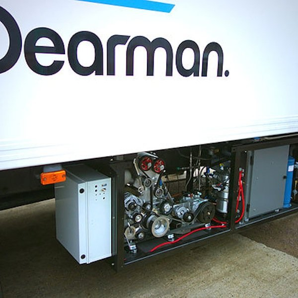 Getestet wird aktuell die zweite Generation der Dearman-Null-Emission-Transportkühlung.