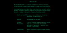 Grüne Schrift auf Schwarz: Vor 25 Jahren ging erste Webseite online