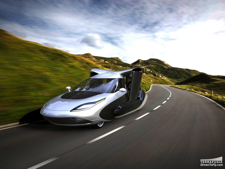 Auf dem Boden soll der TF-X mit einem E-Motor fahren. In der Luft wird dann ein Verbrennungsmotor übernehmen.