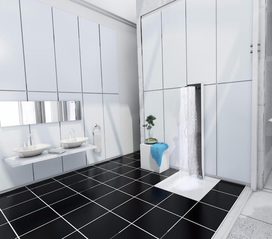 Energiesparende Dusche reduziert Verbrauch auf ein Zehntel