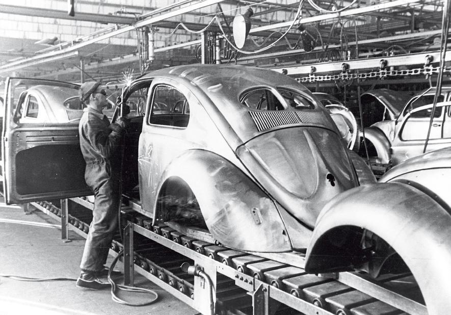 Serienproduktion des VW Käfer begann vor genau 70 Jahren