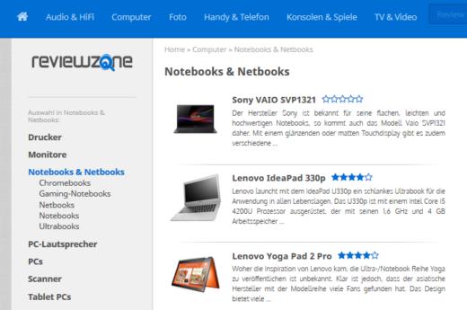 www.reviewzone.de