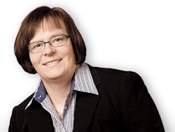Andrea Ramscheidt hat über 20 Jahre als Führungskraft und Projektleiterin gearbeitet.