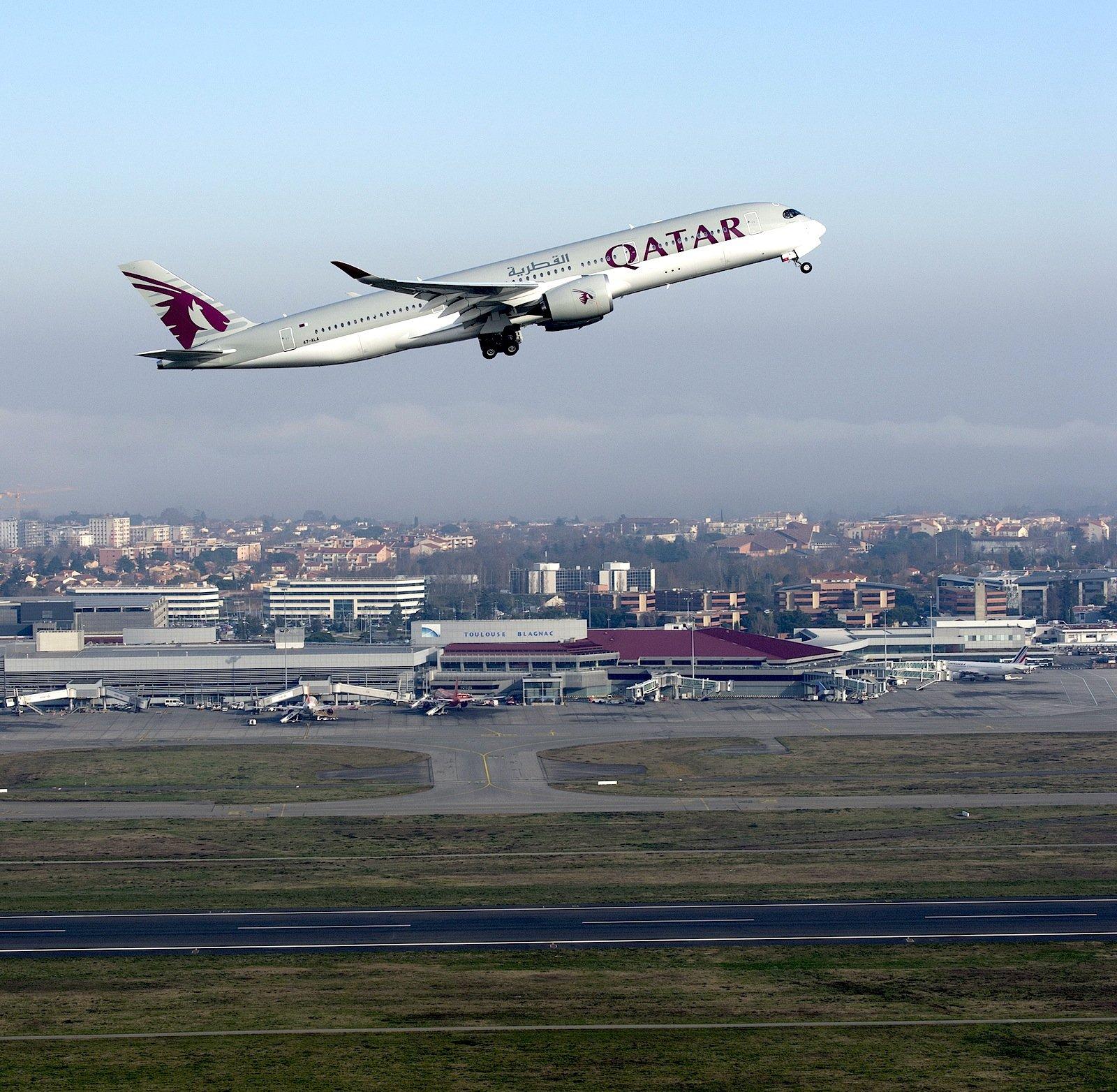 Airbus setzt auf den neuen A350, der im Dezember erstmals an Qatar Airways ausgeliefert wurde.