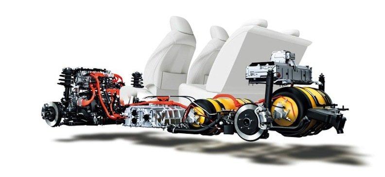 Brennstoffzellentechnik von Toyota.