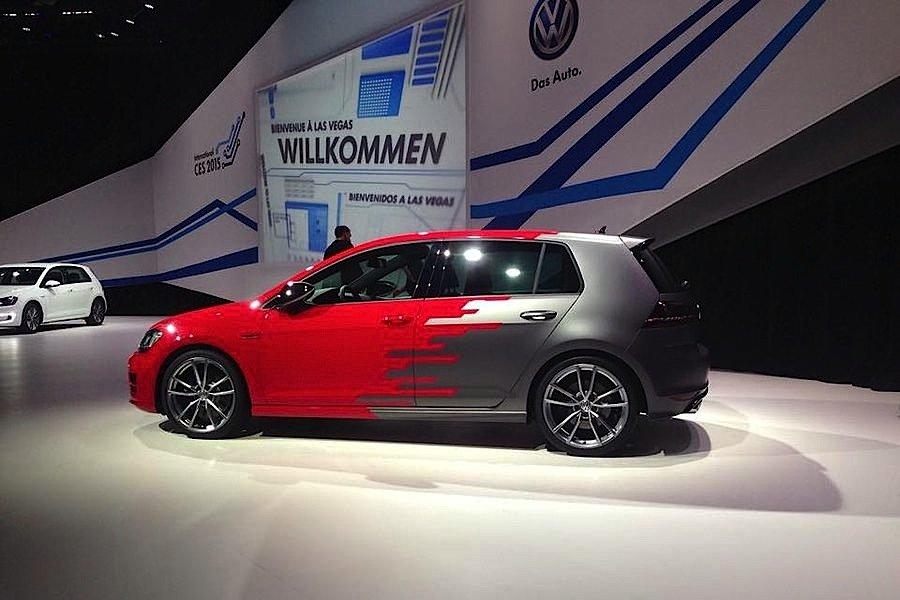 Golf R Touch: Volkswagen präsentiert den Prototypen auf der CES in Las Vegas.